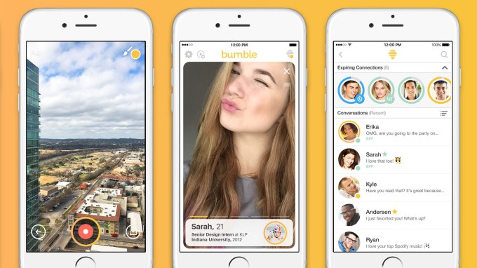 Bumble becomes first dating app to introduce Voice and Video